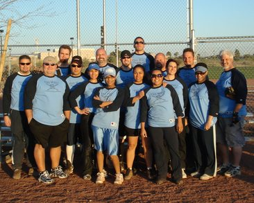 The Well's First Coed Softball Team! T-Shirt Photo