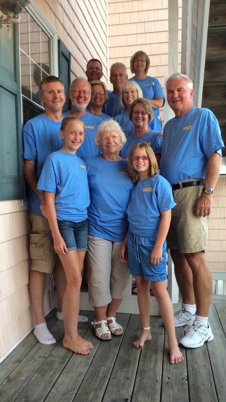 Ryan Family Beach Party T-Shirt Photo