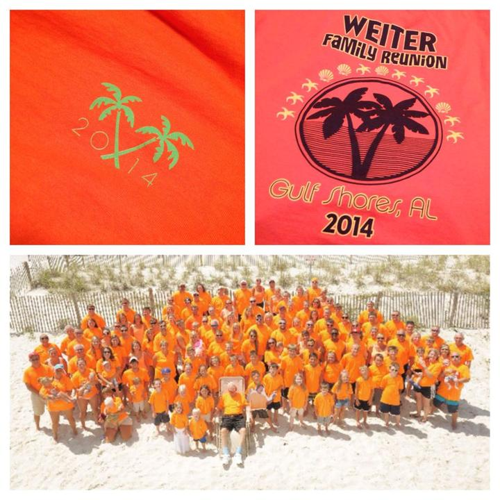 Weiter Family Reunion T-Shirt Photo