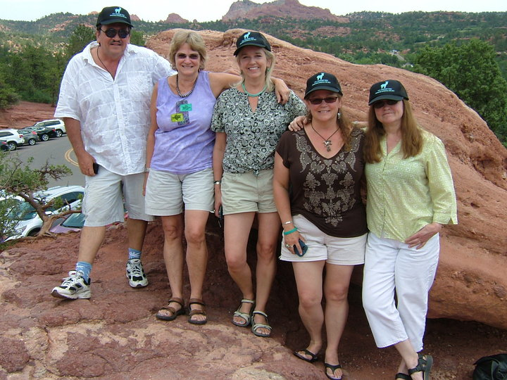 Johnson Kids In The Garden Of The Gods, Co, 2014 T-Shirt Photo