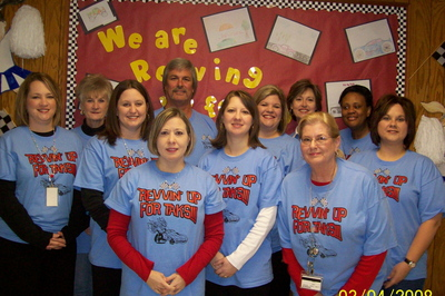 We Are Revvin Up For Taks! T-Shirt Photo