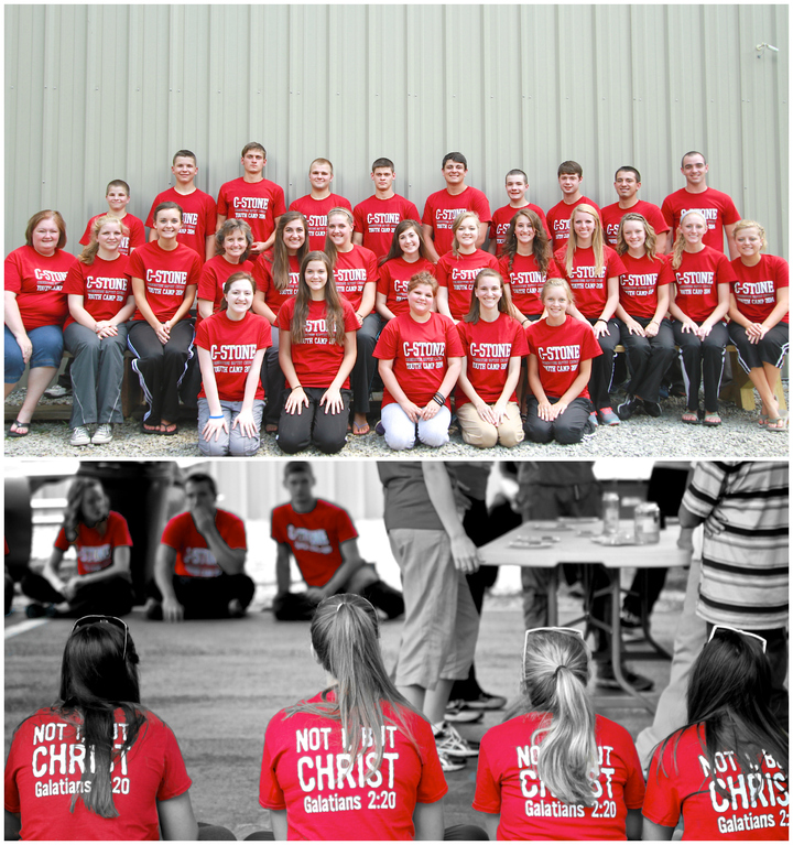 C Stone Youth Camp T-Shirt Photo
