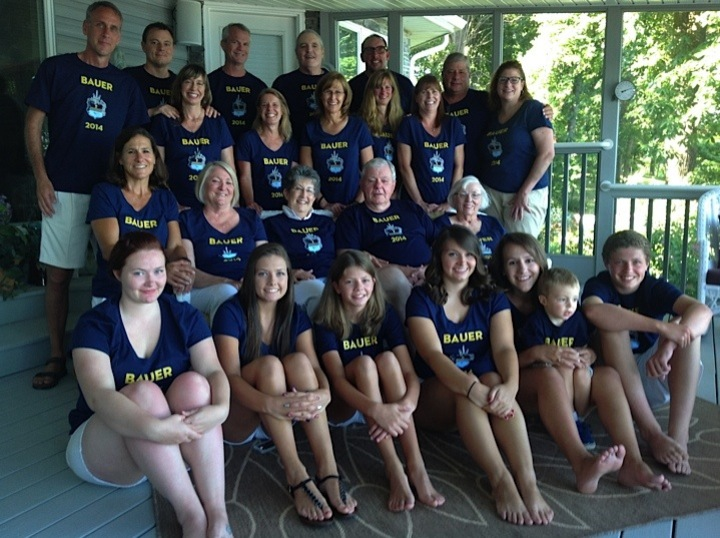 Bauer Family Reunion Shirts! T-Shirt Photo