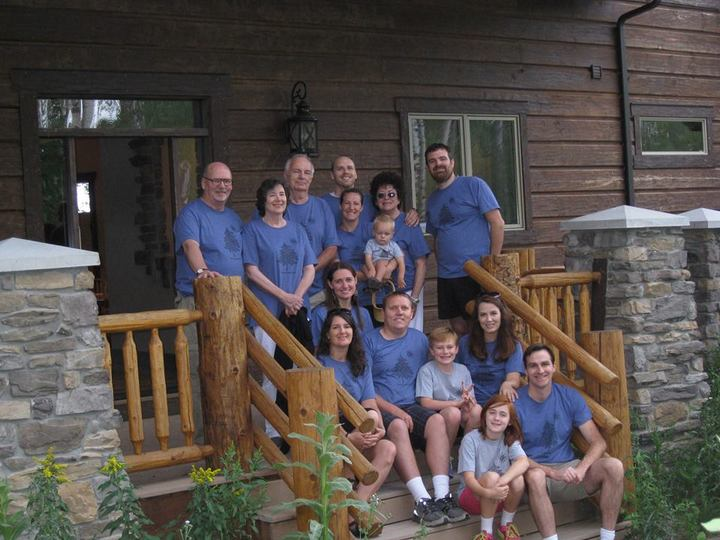 First Family Reunion...Yellowstone! T-Shirt Photo