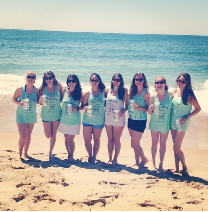 Sarah's Beachlorette T-Shirt Photo