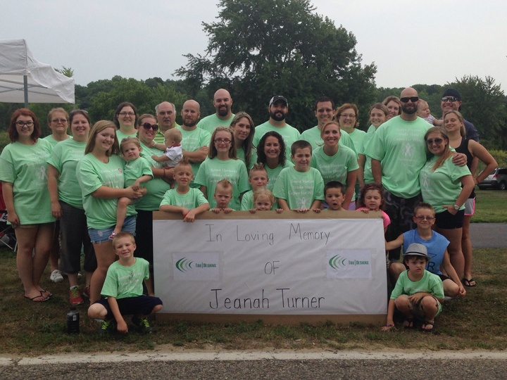 In Memory Of Jeanah Turner Relay For Life 2014 T-Shirt Photo