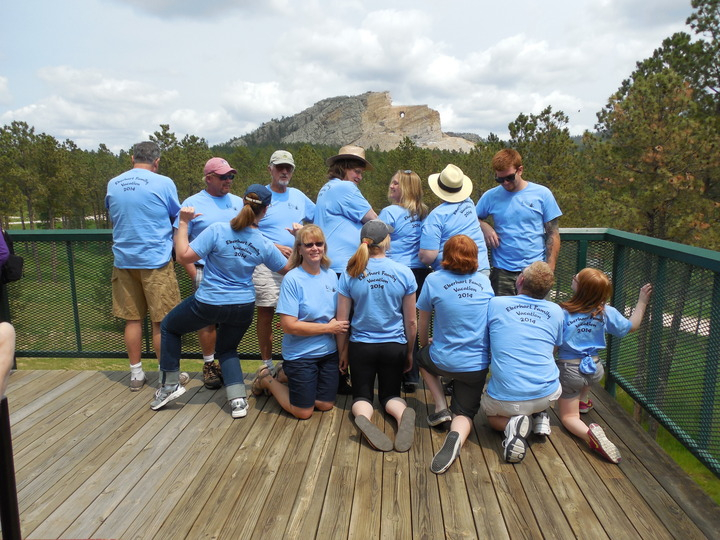 Eberhart Family Vacation T-Shirt Photo