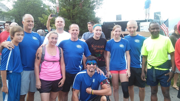 Whirley Drink Works! 2014 Kinzua Tango Team T-Shirt Photo