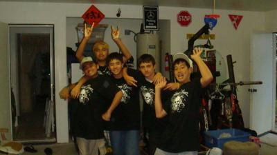 Young Gunz Birthday Celebration T-Shirt Photo