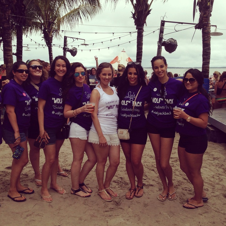 Wolf Pack Bachelorette Party! T-Shirt Photo