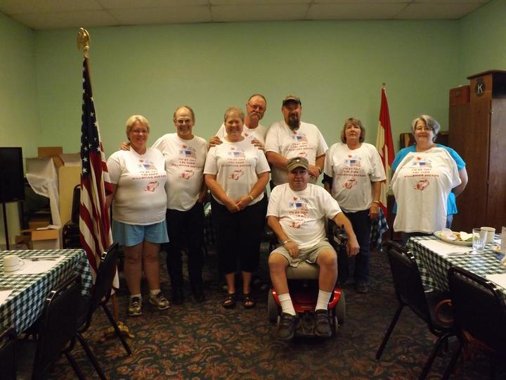 4th July Car Show Crew T-Shirt Photo
