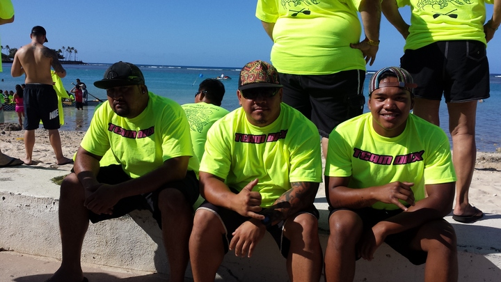 2014 Hawaii Dragon Boat Races T-Shirt Photo