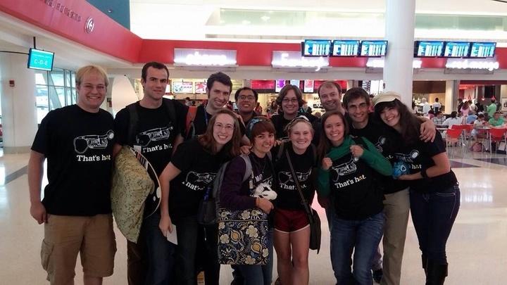 Nuclear Chemistry Summer School Says Goodbye T-Shirt Photo