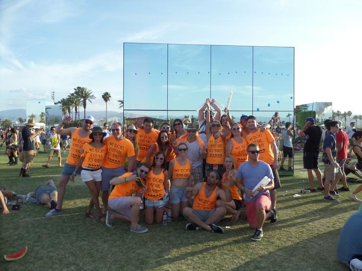 The Greatest People I Know @ Coachella 2014 T-Shirt Photo