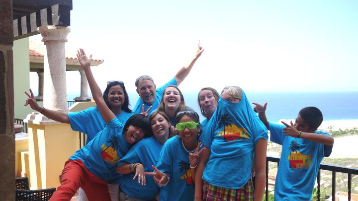 Amigos At Ease At 90 Degrees T-Shirt Photo