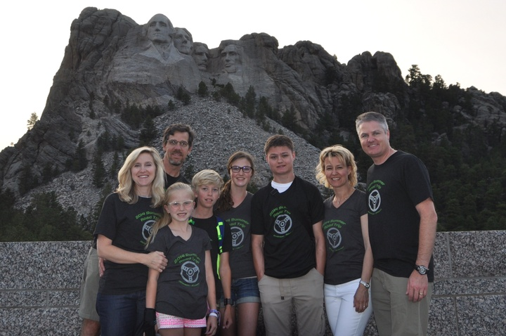 Mt Rushmore Roadtrip 2014 T-Shirt Photo