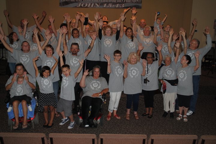 Sunshine Church Gets Custom Inked! T-Shirt Photo