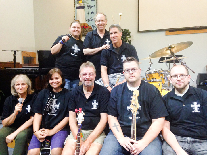 Resonate Band In Our New Shirts! T-Shirt Photo