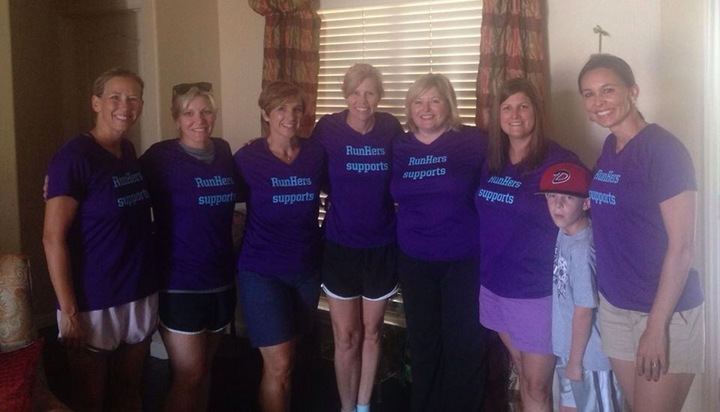 Norman Run Hers Supports T-Shirt Photo
