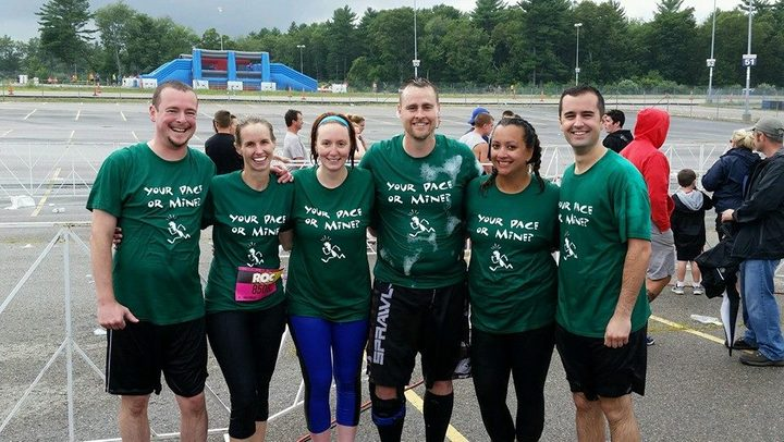 "Team ""Your Pace Or Mine?"" T-Shirt Photo"