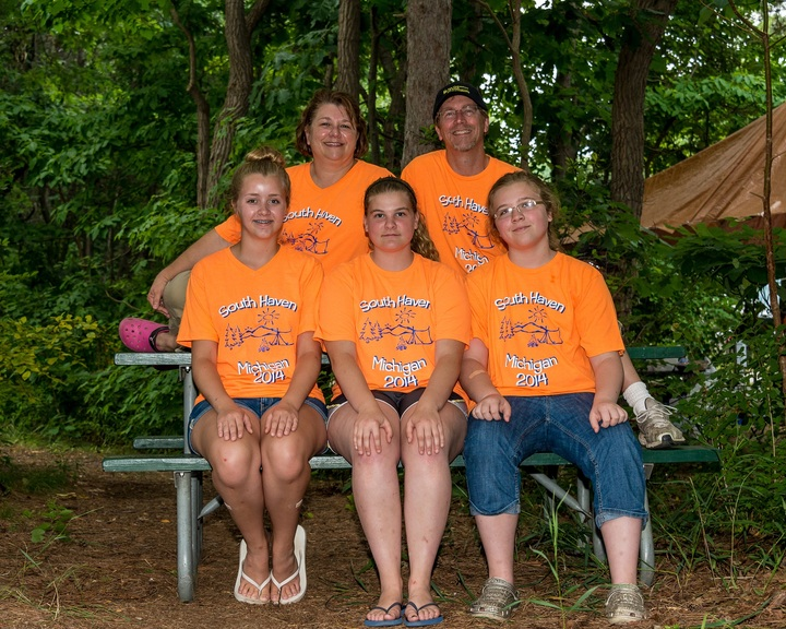 Camping In South Haven! T-Shirt Photo