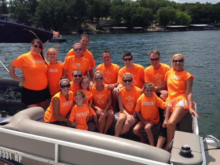 Lake Of The Ozarks Family Vacation T-Shirt Photo