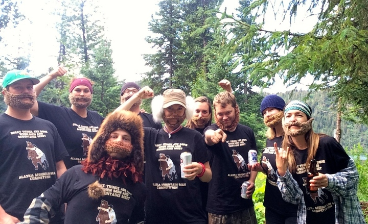 Alaska Mountain Man Competition T-Shirt Photo