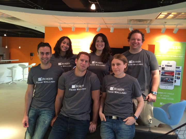 App Team Wallaby! T-Shirt Photo
