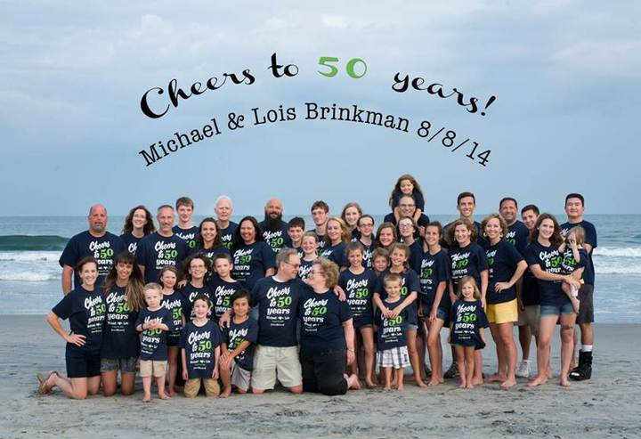 Cheers To 50 Years! T-Shirt Photo