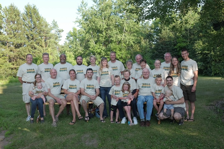Boge Family Reunion T-Shirt Photo