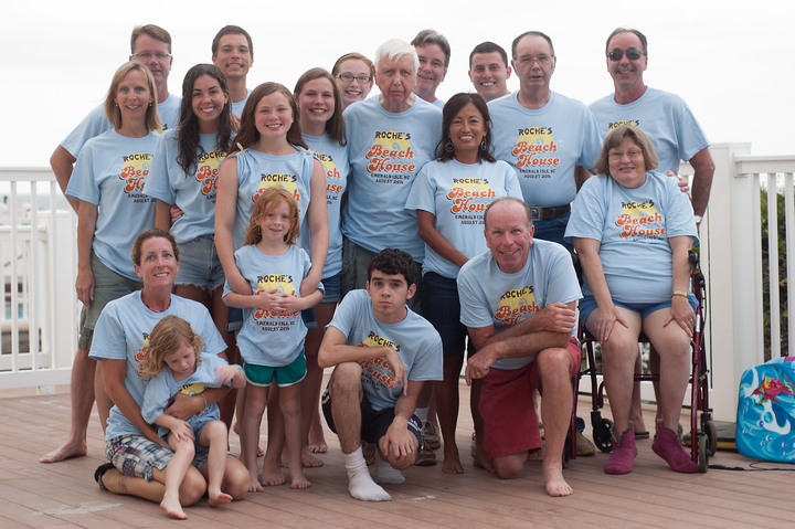 Family Reunion 8/2/2014   8/9/2014 Emerald Isle, Nc T-Shirt Photo