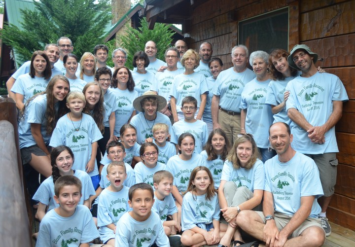 The Blum Family Reunion T-Shirt Photo