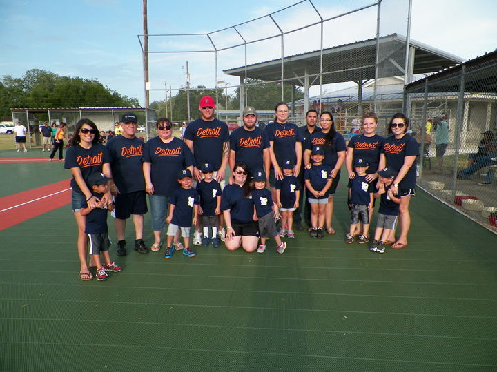 Tigers Tball&Parents2014 T-Shirt Photo
