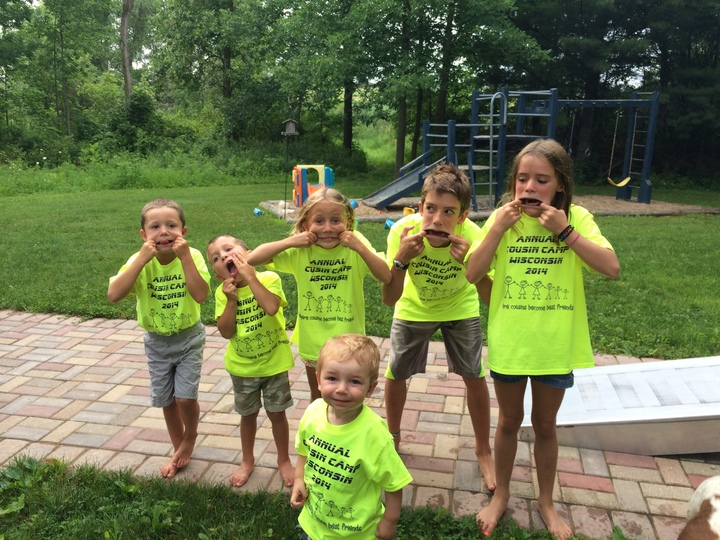 Cousins Being Silly T-Shirt Photo