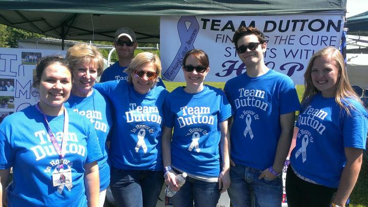 Team Dutton Relay For Life  T-Shirt Photo