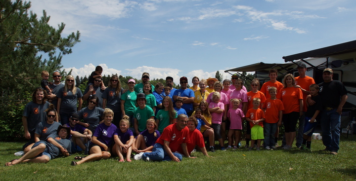 Skinner Family Reunion T-Shirt Photo