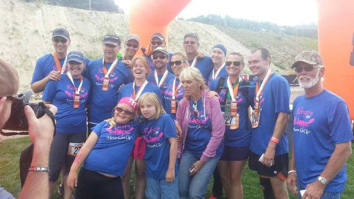 Robyn's Hope Team Ran Ragnar Co 2014 T-Shirt Photo