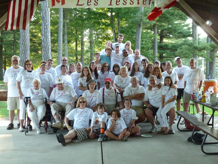 Picturing Four Generations    111 People T-Shirt Photo