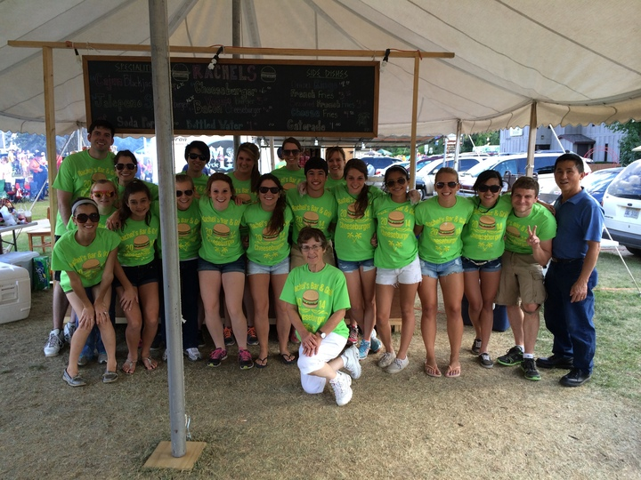 Cheeseburger Festival 2014 T-Shirt Photo