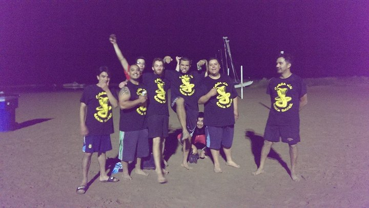 Cobra Kai Beach Soccer T-Shirt Photo