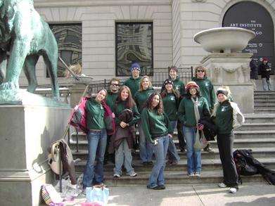 Ap Art History Class On Field Trip To Art Institute T-Shirt Photo