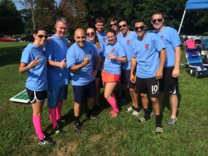 Philly Kicks Cancer Kickball Team 2014 T-Shirt Photo