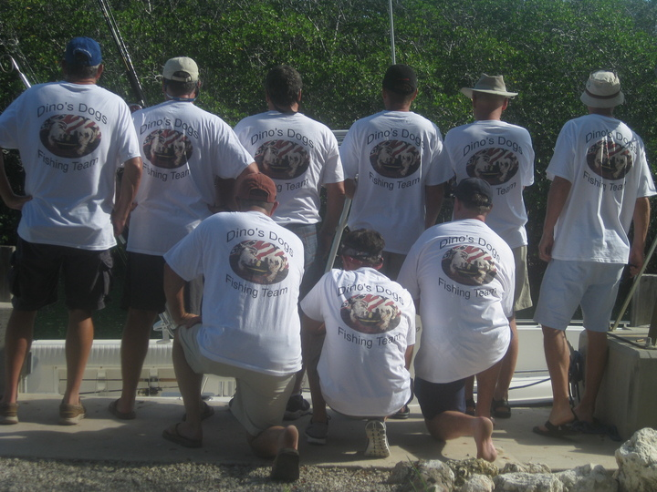 Fishing In The Keys T-Shirt Photo