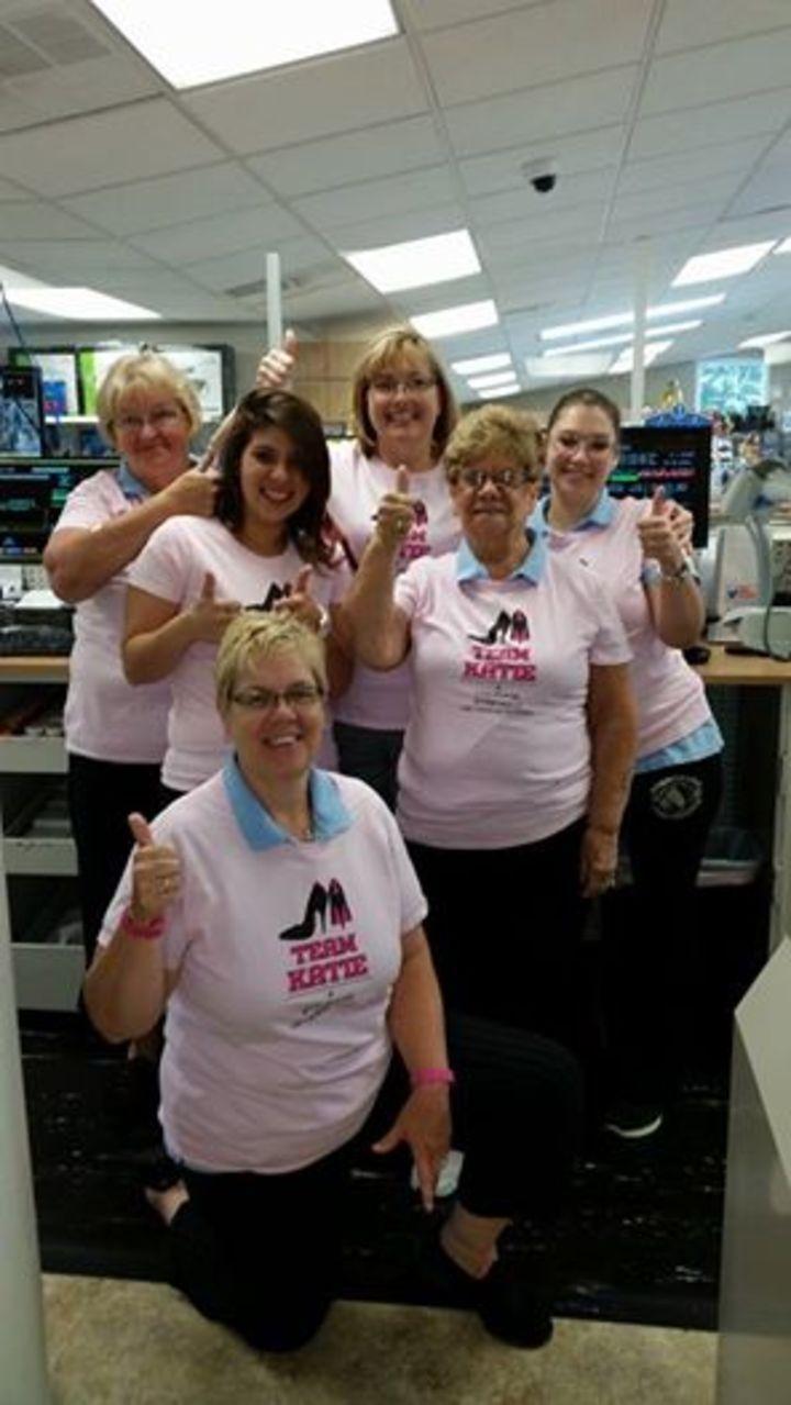 Team Katie T-Shirt Photo