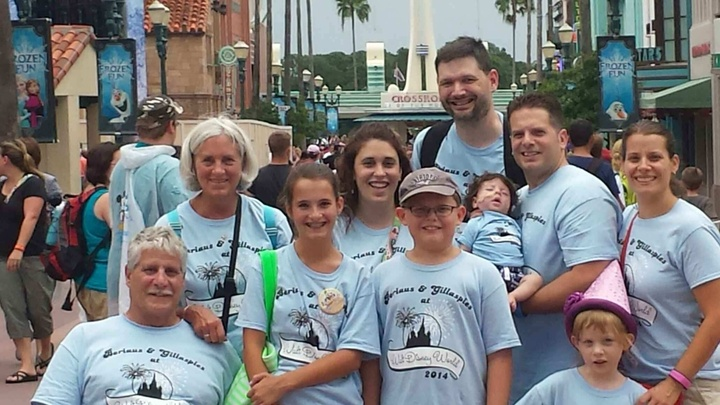 We Made It To Disney!!! T-Shirt Photo