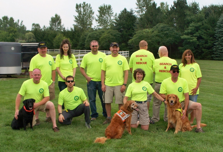Massasauga Search & Rescue Team T-Shirt Photo