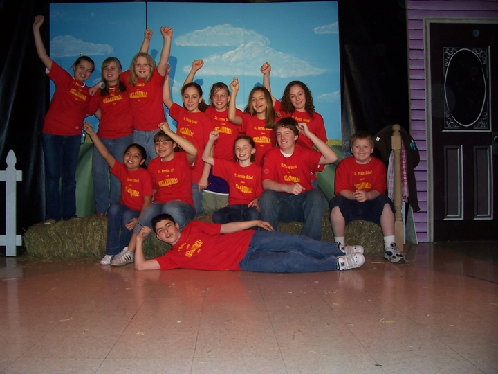 Oklahoma Cast And Crew!!! T-Shirt Photo