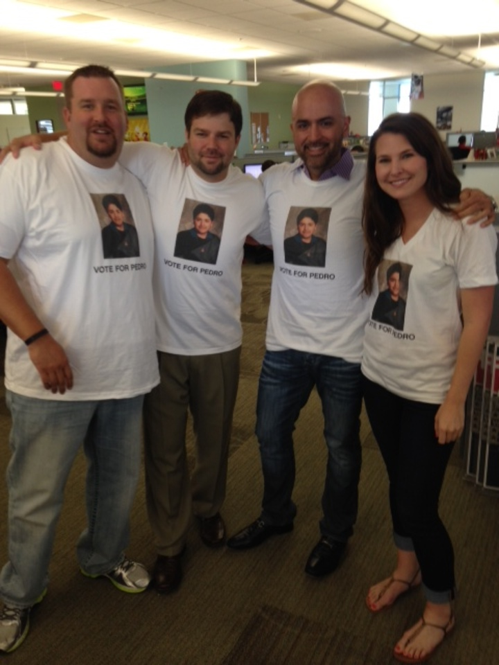 The Unofficial Uniform Of Pedro's Healthcare West Team @ Mc Afee T-Shirt Photo