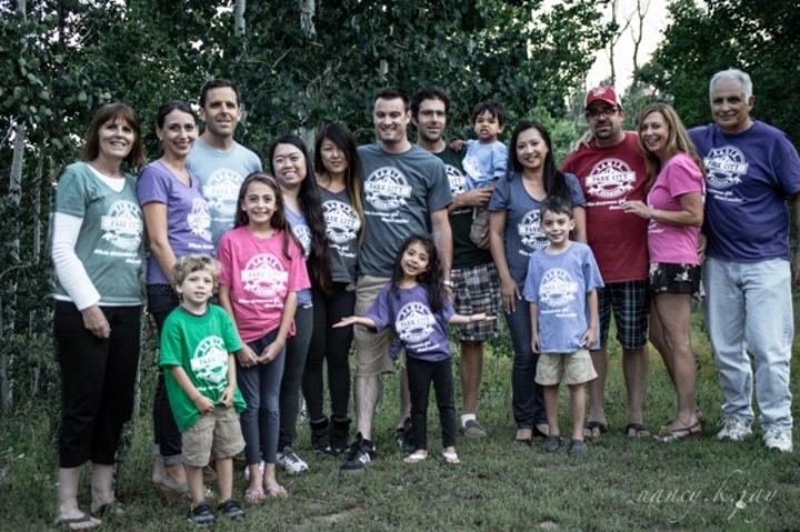 Gamiz Family Reunion In Utah T-Shirt Photo