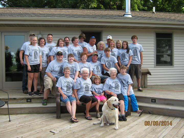 Johannsen Cream Can Cookout 2014 T-Shirt Photo